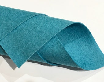 1mm Cyan Eggshell Blue Merino Wool Felt A4 Sheet - No. 53 Robins Egg
