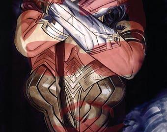 Original Wonder Woman Drawing