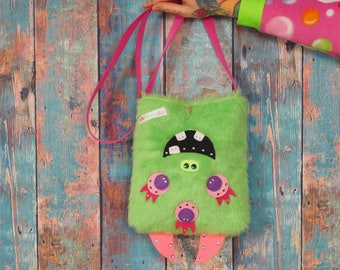 "Color Monster Monster Zombie bag ""Triplets"""