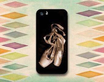 Dark Ballet Slippers Case: iPhone 4 // 4s, 5c or 5 // 5s