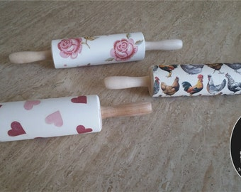 Decorative Kitchen Rolling Pin