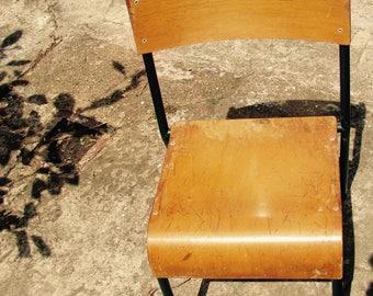 School chair desk chair