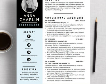 CREATIVE Resume Template | CV Template + Cover Letter | Microsoft Word And Apple  Pages |