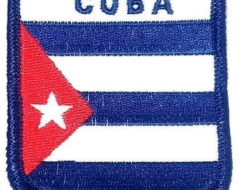 Cuba Embroidered Patch