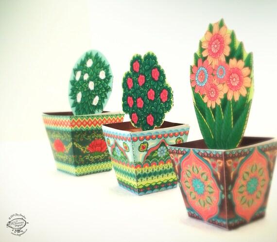 Paper Flower Pot Karlapa Ponderresearch Co