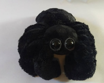Black Spider Plush - Spiderbro - Cute Spider