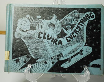 Antique/Vintage Children's Book Elvira Everything by Frank Asch 1970
