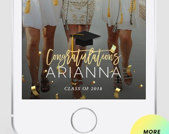 Snapchat Geofilter Graduation, Geofilter Party, Graduation Party, Graduation Geofilter, Graduation Filter, Class of 2018
