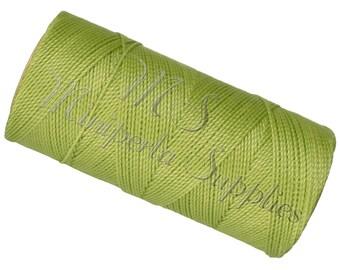 Spool of thread macramé waxed Linhasita - pistachio