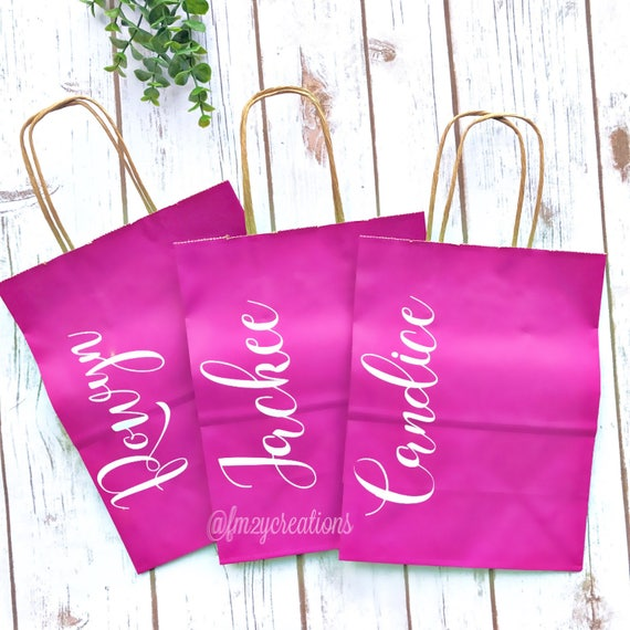 Bachelorette party gift bags personalized gift bags bridesmaid bachelorette party gift bags personalized gift bags bridesmaid gift bags thank you gift bag bridal party gift bag ss from fromme2youcreations on negle Gallery