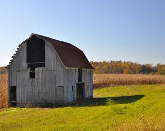 Fine Art Photo of barn near Columbus, Indiana (IDAUT166)