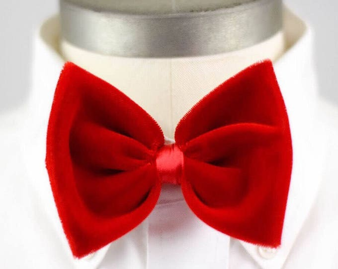 Featured listing image: Red Velvet Bow Tie