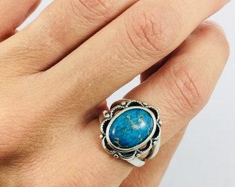 Size 8, Sea Sediment Jasper Ring, Sterling Silver Ring, Sea Sediment Jasper, Sea Sediment Jasper Ring, Jasper Ring, READY TO SHIP