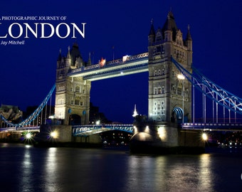 A Photographic Journey of London Book by Jay Mitchell - Mobi Version