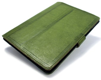 """iPad PRO 9.7"""" 2015-2016 code A1673 A1674 leather case made by genuine italian leather as protection choose color"""