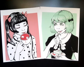 Macabre Tea Party Prints