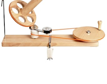 Hand-crafted Birch wood mega ball winder for winding yarn. The best yarn winder we've found! Made by KnitPro - UK stock