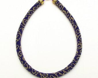 Bead Crochet Necklace Pattern, pattern for bead crochet necklace, Bead Crochet Tutorial Bracelet Pattern