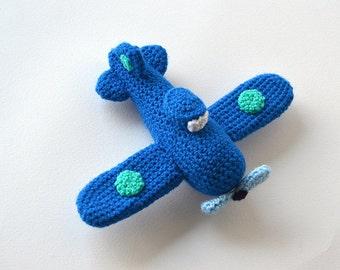 Airplane Crochet Pattern, Amigurumi Airplane Pattern, Crochet Airplane Amigurumi Pattern, Aircraft Crochet Pattern, Aircraft Amigurumi