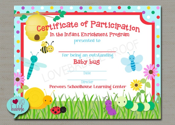 Bugs Award Spring School Gymnastics Dance Tumbling Preschool