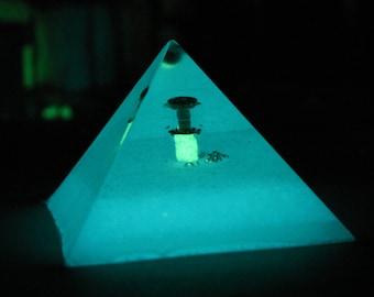 Pyramid of Bottled Light IV