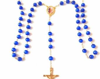 """Handmade """"Totus Tuus"""" St. John Paul II Rosary"""