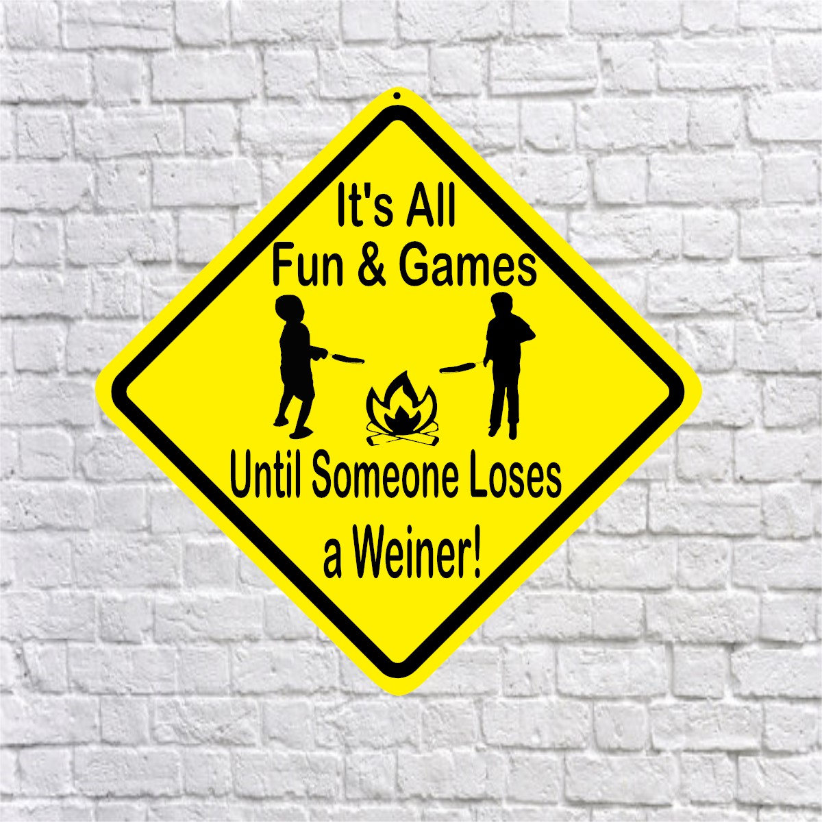 Fun And Games Sign