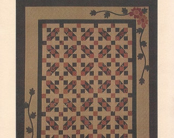 Kansas 2 Step - Kansas Troubles Quilters - Quilting Leaflet - Four Projects