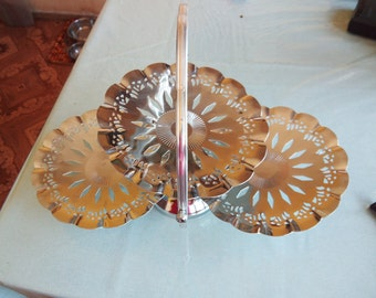 folding metal stand for candy cookies