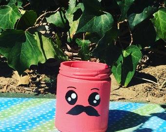 Emoji storage jars - Craft by saskia - decor - jars -storage - gifts