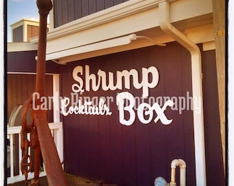 Shore: Shrimp Box Point Pleasant Tile Coaster
