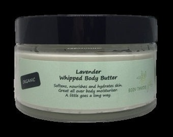 Organic Lavender Whipped Body Butter