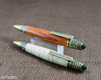 Celtic Scrollwork-Decorated Pen