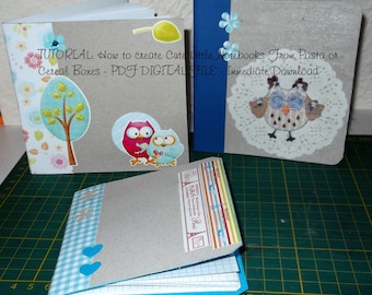 Create Amazing Notebook From Cereal Boxes, Tutorial