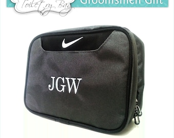 1 Nike Toiletry Bag, Personalized Toiletry Bag, Groomsmen Gift, Men's Toiletry Bag, Travel Toiletry Bag, Father's Day Gift