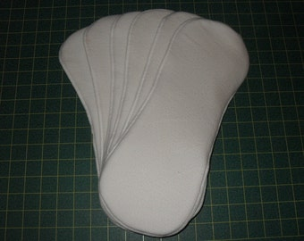 12 Bamboo/Zorb contoured inserts