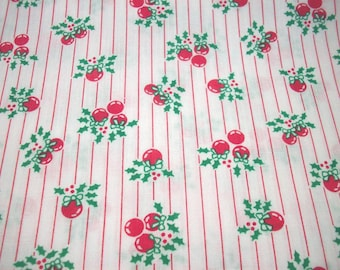 1 Yard 100% Cotton Red/Christmas/Winter Print Fabric
