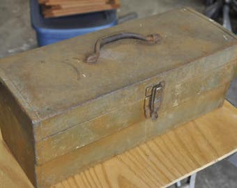 Old Steel Tool Box