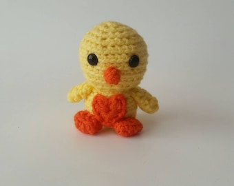 Mini Crochet Chick