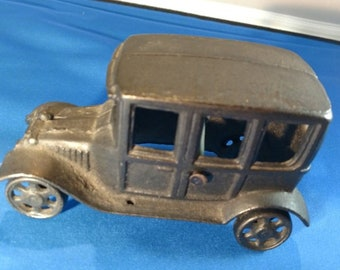 Cast Iron Model T Car