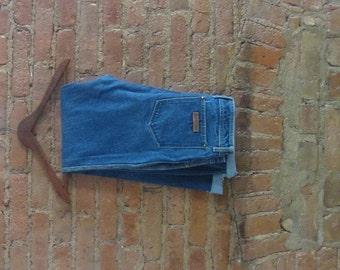 "vintage Sergio Valente classic blue jean | 70's 80's boho disco studio 54 | 32"" Waist"