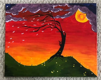Mystical Tree Painting