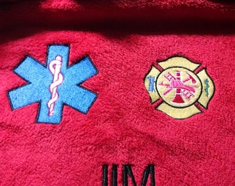 A Plush Throw is something special for the Fire Fighter-EMT or Paramedic