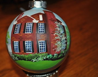 Great Housewarming gift New Hand painted Home ornament - sold done from picture