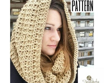 Crochet Pattern Hooded Cowl | Easy Hooded Cowl Crochet Pattern | Crochet Pattern Cowl | Hood Crochet Pattern | Esmeralda Hooded Cowl PATTERN