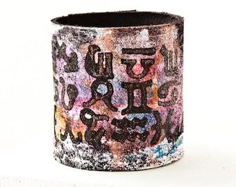 Cuff Bracelet Leather Jewelry Accessories Gift - Boho Wrist Cuffs Unique Bracelets