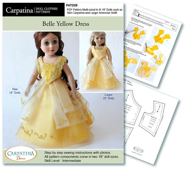 Belle\'s Yellow Dress inspired from Beauty And The Beast