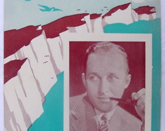 Cliffs Dover Bing Crosby authentic music song illustration War England