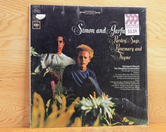 Simon and Garfunkel - Parsley, Sage, Rosemary and Thyme - Columbia Records CS-9363 - Vintage 33 1/3 LP Record - 1966