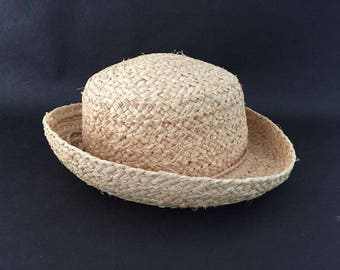 Vintage Scala Collection Straw Hat